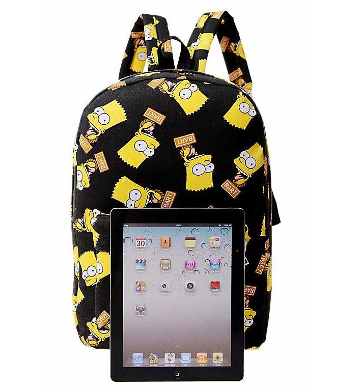 Рюкзак портфель школьный симпсоны рюкзак grand код 84r0517