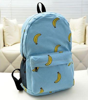 Купить рюкзак с бананами спб детские рюкзаки ранцы